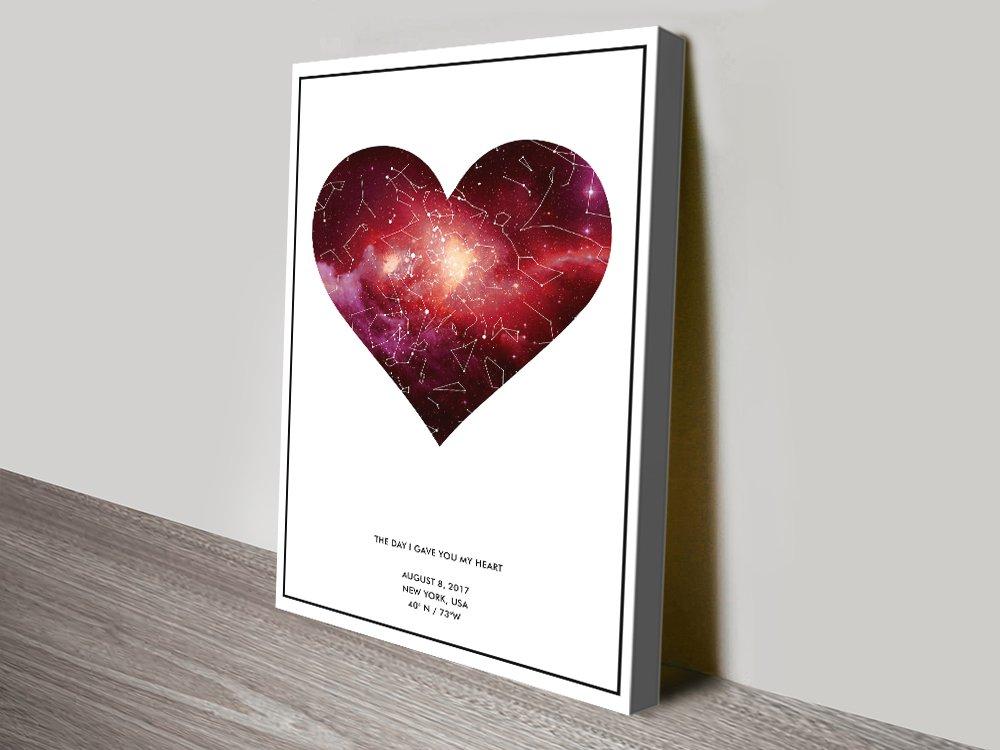 Custom Romantic Wall Art Unique Gifts Online