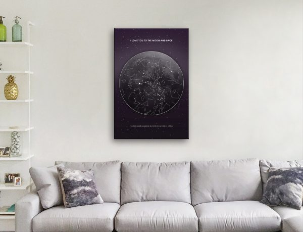 Affordable Star Maps in a Variety of Designs