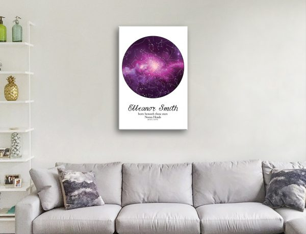 Quality Personalised Star Maps for Sale Online