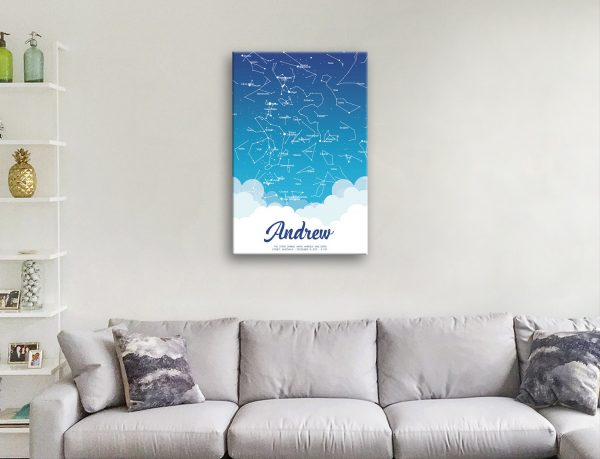 Personalised Star Maps for all Occasions for Sale