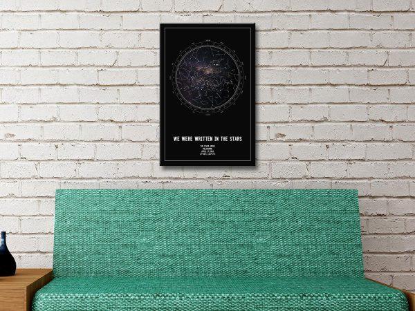 Personalised Wall Art Romantic Gift Ideas AU