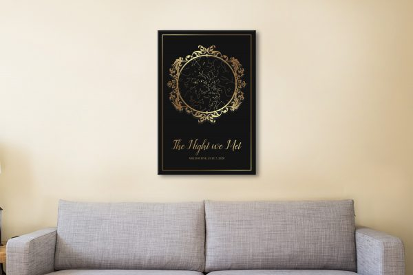 On Trend Gold Star Map Great Gift Ideas Online