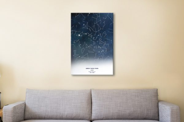 Bespoke Star Maps Great Gifts for All Occasions