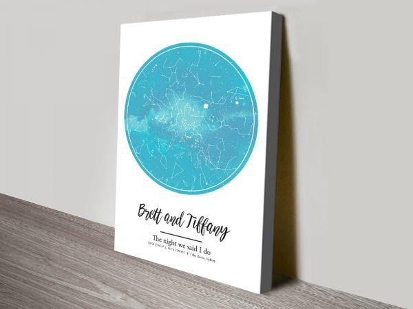 Colourful Star Maps Unique Gift Ideas AU
