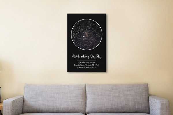 Ready to Hang Star Charts Quality Wall Art