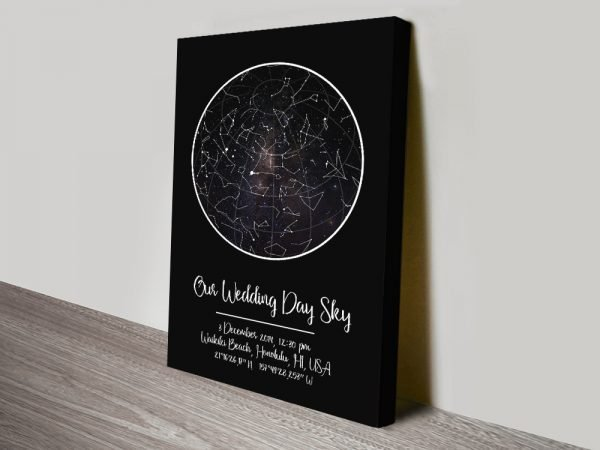 Wedding Star Maps Great Gift Ideas Online